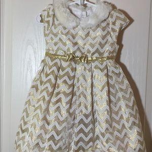 ❄️Jona Michelle Girl's Dress, 24 Month/2T